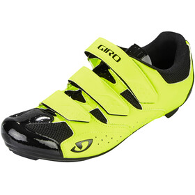 Giro Techne Shoes Men highlight yellow